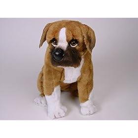 Stuffed Boxer Pup