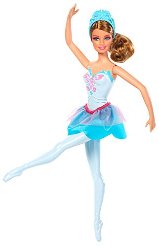 Barbie in The Pink Shoes Ballerina Doll, Blue Dress