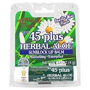 Hawaiian Tropic Vanilla Mint Herbal Aloe Flavored Lip Balm