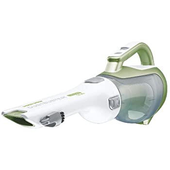 The Black and Decker chv1410l 14.4-volt lithium ion dustbuster hand vac has 50-percent more reach than the previous dustbuster design for less bending and better accessibility.  It is lightweight and portable for quick clean-ups. The rotating, slim n...