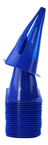 Solid Sports Pop-up Cones, Blue (Motorcycle Practice Cones compare prices)