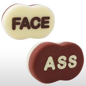 Ass / Face Sponge - 1