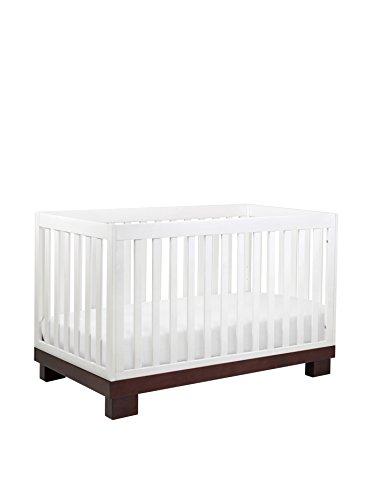 Babyletto Kid's Modo 3-in-1 Convertible Crib, Espresso/White