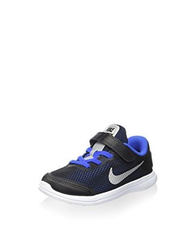 Nike Zapatillas Flex 2016 RN (TDV) Negro / Azul
