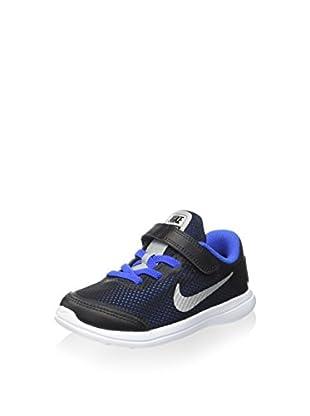 Nike Zapatillas Flex 2016 RN (TDV) (Negro / Azul)