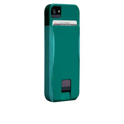 Case-Mate 日本正規品 iPhone5 POP! ID Case, エメラルドグリーン/プールブルー 【カードホルダーつき ハイブリッド・ハードケース】 CM022416