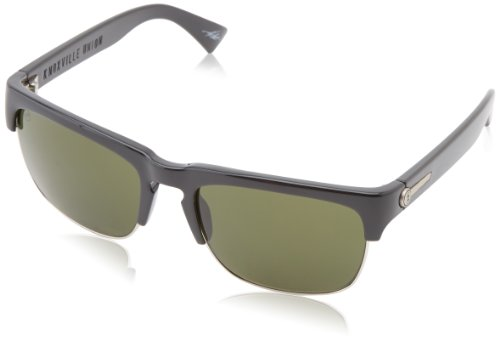 Electric Visual Knoxville Union Es11501620 Square Sunglasses,Gloss Black,55 Mm
