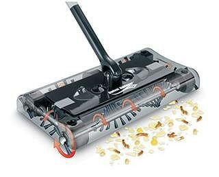 Review Of Swivel Cordless Floor and Carpet Sweeper
