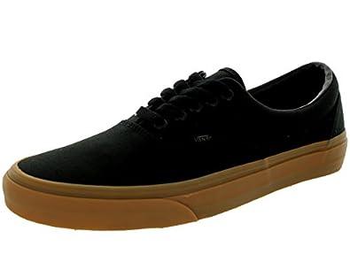 Vans Unisex Era Black/Classic Gum Skate Shoe 12 Men US