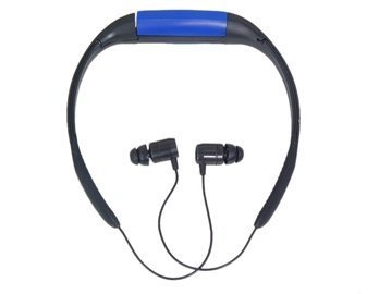 Waterproof Headset Design 4Gb Mp3 Player With Fm (Blue)