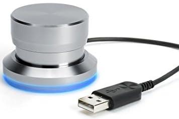 Griffin Technolog PowerMate【カスタマイズ可能なUSBマルチメディアコントローラー (スペースグレー)