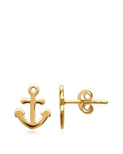 BALI Jewelry Pendientes metal bañado en oro 18 ct