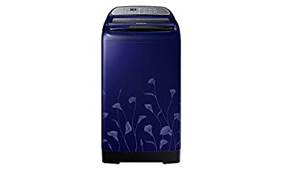 Samsung WA65H4020HL Fully-automatic Top-loading Washing Machine (6.5 Kg, Lily Pattern Blue)