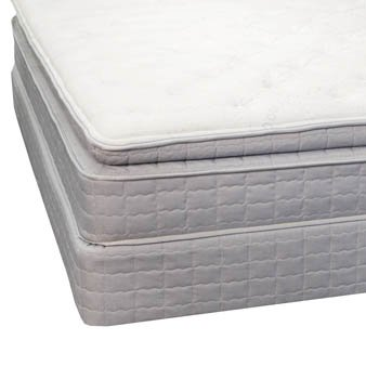 Full Serta Perfect Sleeper Essentials Warren Super Pillow Top Mattress front-1038124