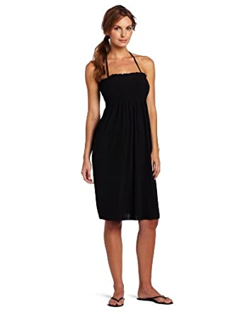 Magic Suit Women's Smocked Tube Dress, Black, Large