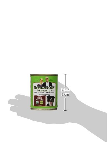 Newman's Own Organics Beef and Liver Grain-Free for Dogs, 12-Ounce Cans (Pack of 12)_Image5