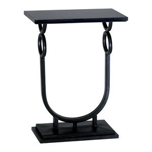 Image of Cyan Design 02040 Rope End Table, Ebony (B005TQT7IQ)