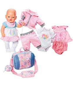 Baby Born Great Value Clothing Pack Amazon Co Uk Toys