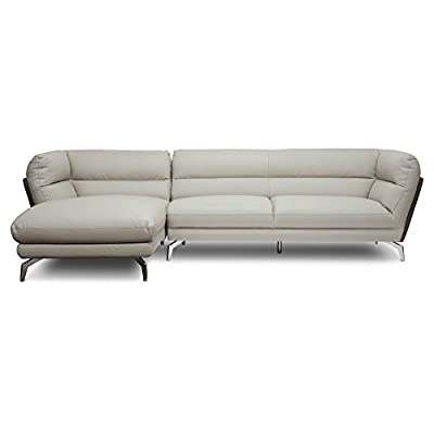 Baxton Studio Quall Faux Leather Sectional