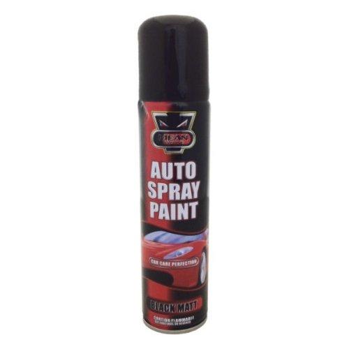 Paint 'Auto' 300ml Spray Can 'Black Matt'