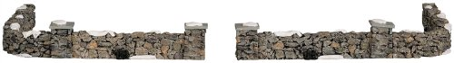 Lemax Colonial Stone Wall Set Of 10 Total Length Of The Assembled Piece Is Approx. 59 cm (23-1/4 inches)(93304) Reviews