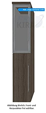 Crescendo Puris (HNA033B7L / R Tall Cupboard Bathroom Cupboard 30 CM