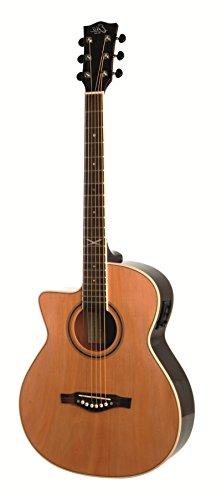 Eko Guitars 06217094 Nxt 018 Cw Eq Left Handed Straight Cutaway Electro-Acoustic Guitar, Natural