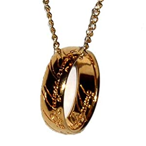 Amazon.com: OFFICIALLY LICENSED Lord of the Rings, Frodo's One Ring of