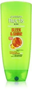 Garnier Conditioner, Sleek and Shine, Family Size, 25.4 Fluid Ounce