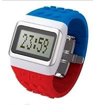 O.D.M. JC01-9 JCDC Pop Hours Series Blue/Red Unisex Watch