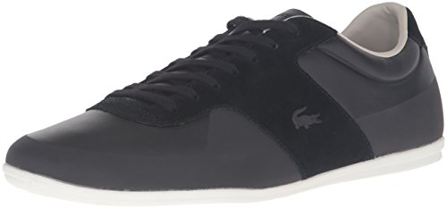 Lacoste Men's Turnier 316 1 Cam Fashion Sneaker, Black, 10.5 M US