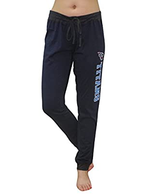 NFL Womens Team Logo Lounge / Yoga Pants - TENNESSEE TITANS