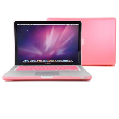 GMYLE® Pink Frosted-see-through Hard Shell Snap