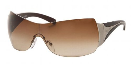 PRADA SPR04I Sunglasses BROWN GRADIENT / BLACK EBONY 7N66S1 1-38-122