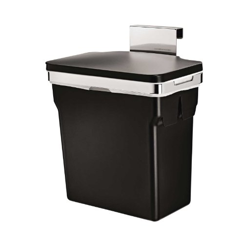 simplehuman In-Cabinet Trash Can, Heavy-Duty Steel Frame, 10-L / 2.6-Gal (Under Cabinet Garbage Can compare prices)