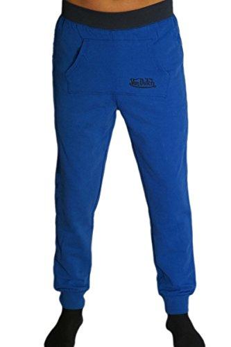 von-dutch-pantaloni-sportivi-uomo-grun-blau-s