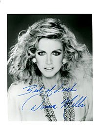 Donna Mills Autographed / Signed Black & White 5x7 Photo