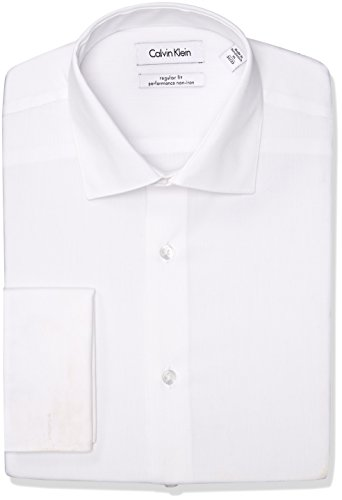 Calvin-Klein-Mens-Regular-Fit-Non-Iron-Solid-Shirt