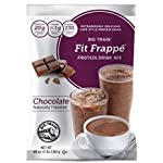 Big Train Fit Frappé Protein Drink Mix Chocolate, Two 3 Lb Bags