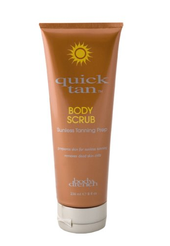 Body Drench Quick Tan Body Scrub Sunless Tanning Prep 236ml