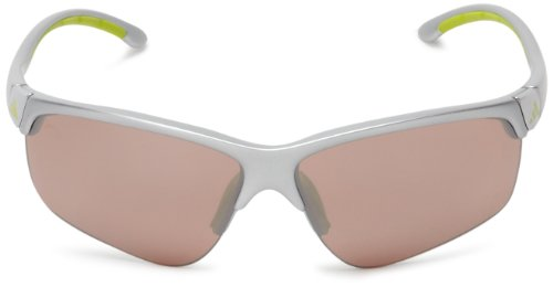 adidasadidas S a165 6089 Adivista Aviator Sunglasses, Silver/Lime, 66mm