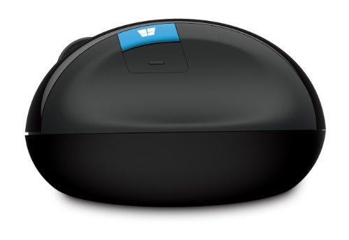 マイクロソフト ワイヤレス 人間工学デザイン 高精細読み取りセンサー Sculpt Ergonomic Mouse L6V-00008