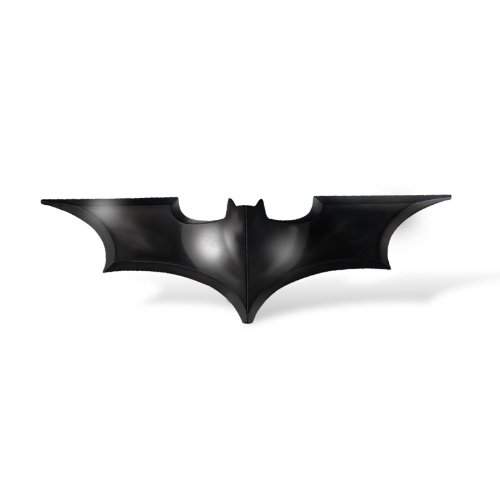 Noble Collection - Fermasoldi di Batman Begins con Batarang, cromo