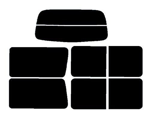 MAZDA マツダ ボンゴ サイドウィンドスライド式用 カット済みカーフィルム SK#/ウルトラブラック