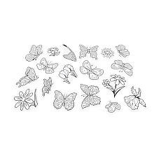 Shrinky Dinks Fun Pack Refill - Butterflies & Flowers