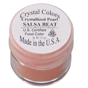 Crystal Colors Pearlescent Dusting Powder - Salsa Beat (Coral)