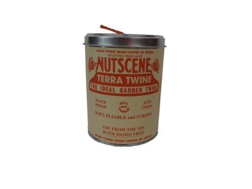 Bosmere K815O Nutscene Tin of Twine, 3-Ply, 492-Feet, Orange