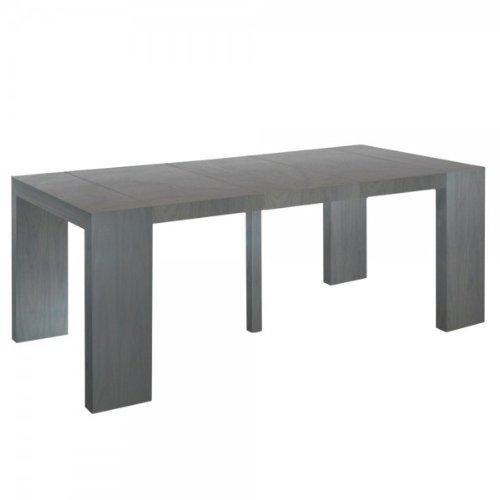 Console extensible bois pas cher for Acheter table extensible