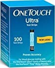 OneTouch Ultra Test Strips, Blue, 100 ct. by LIFESCAN, INC.