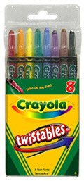 CRAYONS TWISTABLE CRAYOLA 8
